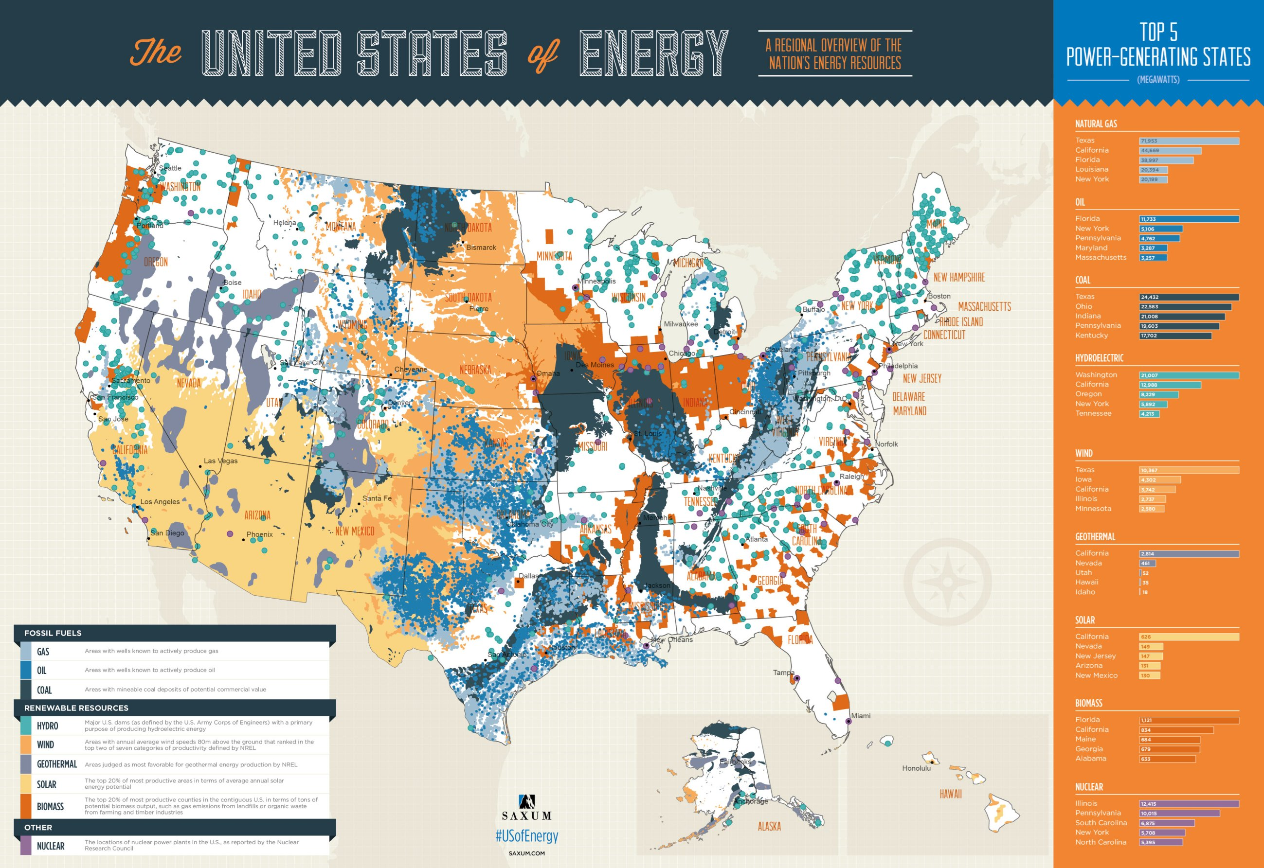 This interactive map shows US electricity usage in real ...