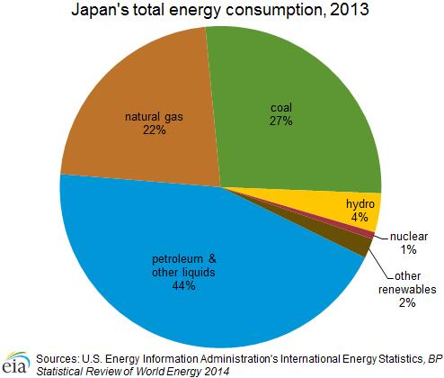 Japan energy consumption